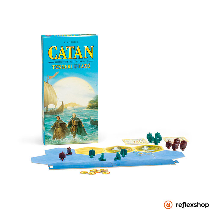 Catan Tengeri utazó 5-6 játékos társasjáték