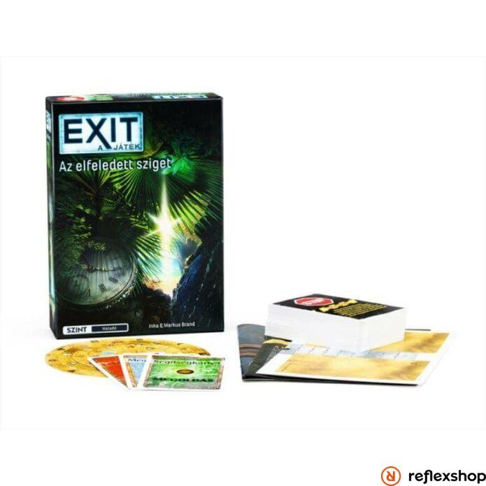 Exit 4. Az elfeledett sziget szabaduló társasjáték