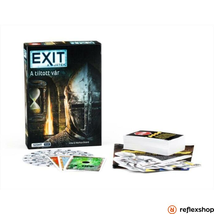 Exit 5. A tiltott vár szabaduló társasjáték