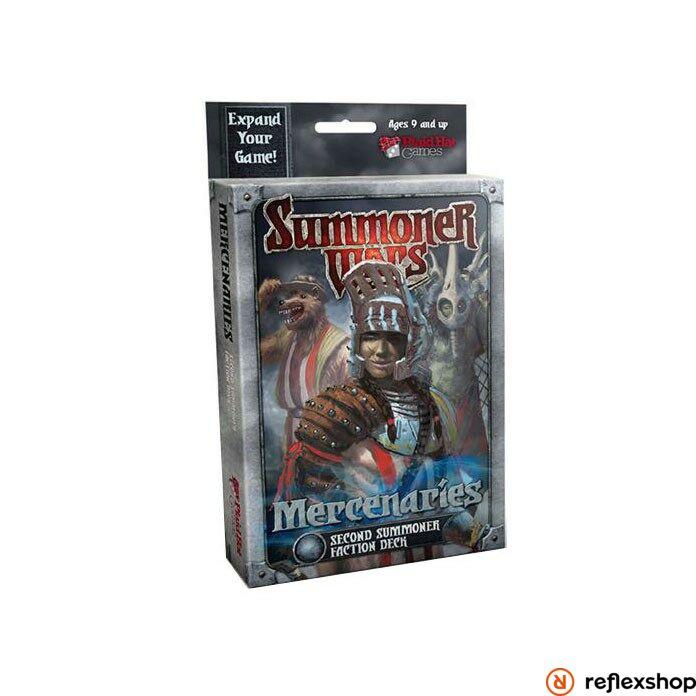 Mercenaries 2nd Summoner angol nyelvű társasjáték kiegészítő