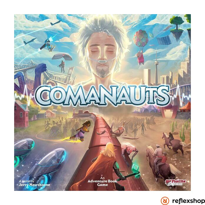 Comanauts angol nyelvű társasjáték