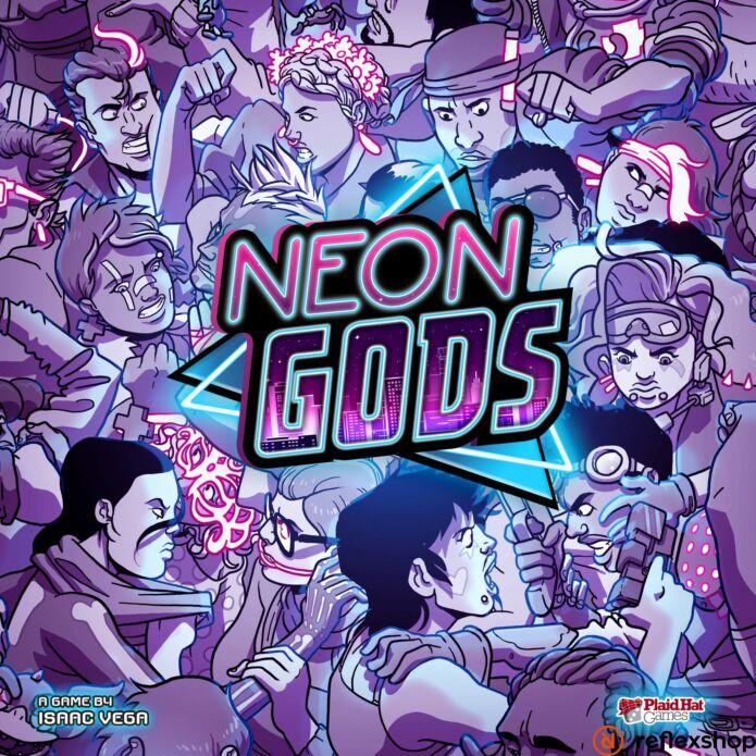 Neon Gods angol nyelvű társasjáték