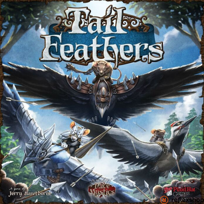 Tail Feathers angol nyelvű társasjáték