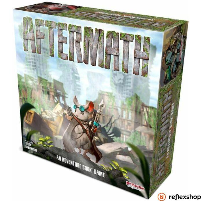Aftermath an adventure book game társasjáték (angol nyelvű)