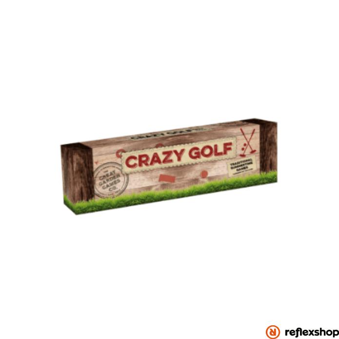 Professor Puzzle Crazy Golf szabadtéri játék