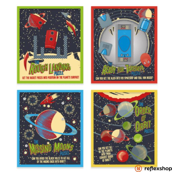 Professor Puzzle Űrbéli ügyességi játékok