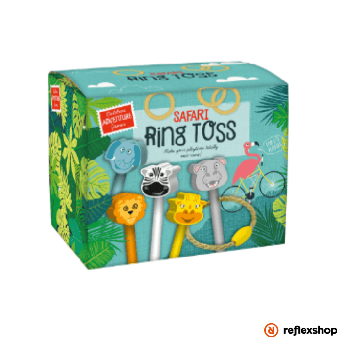 Professor Puzzle Safari Ring Toss logikai játék