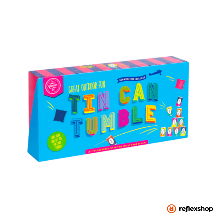 Professor Puzzle Konzervdoboz céllövölde szabadtéri játék