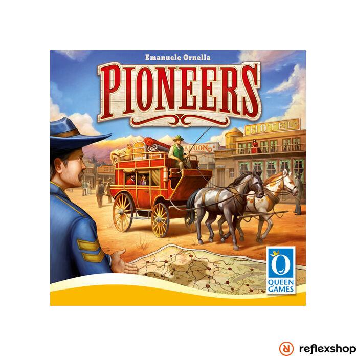 Pioneers társasjáték, angol nyelvű
