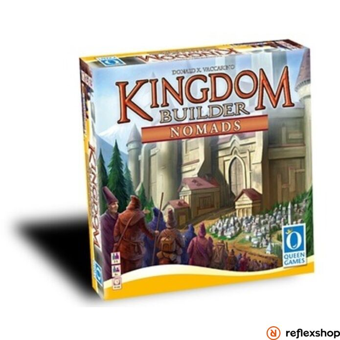Kingdom builder Nomads 1. angol nyelv? kiegészít?