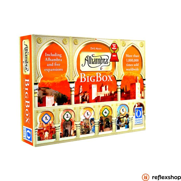 Alhambra Big Box angol nyelv? társasjáték