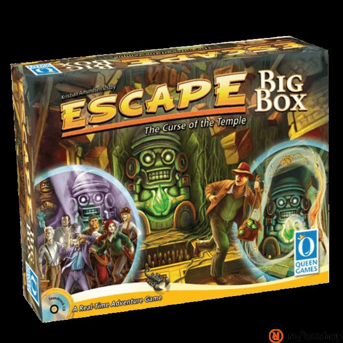 Escape Big Box társasjáték angol nyelv? társasjáték