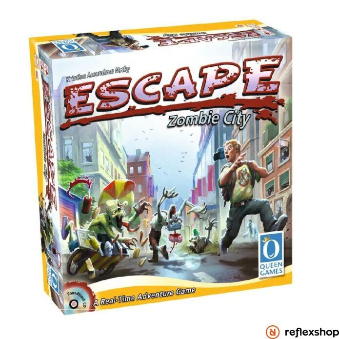 Escape Zombie City angol nyelv? társasjáték