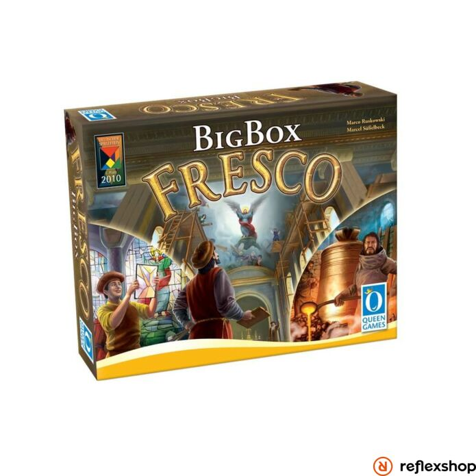 Fresco Big Box angol nyelv? társasjáték