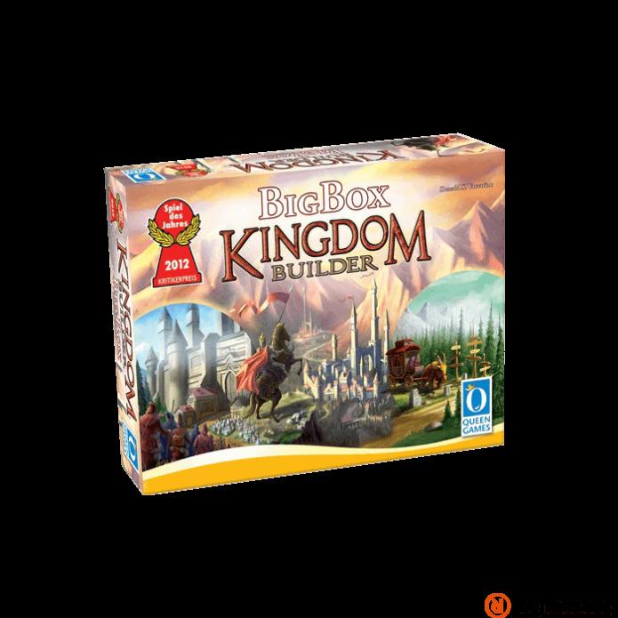 Kingdom builder Big box angol nyelv? társasjáték