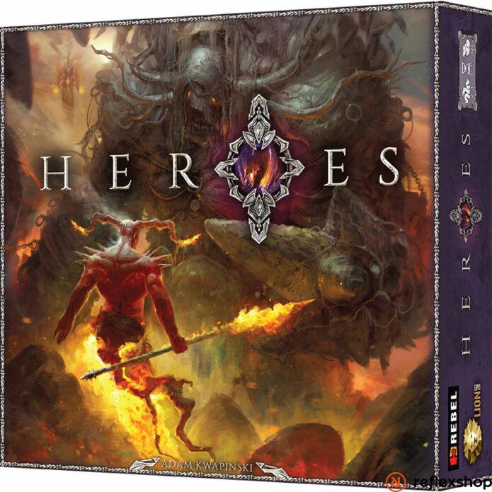 Heroes társasjáték, angol nyelvű