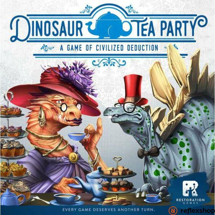Dinosaur Tea Party társasjáték, angol nyelvű