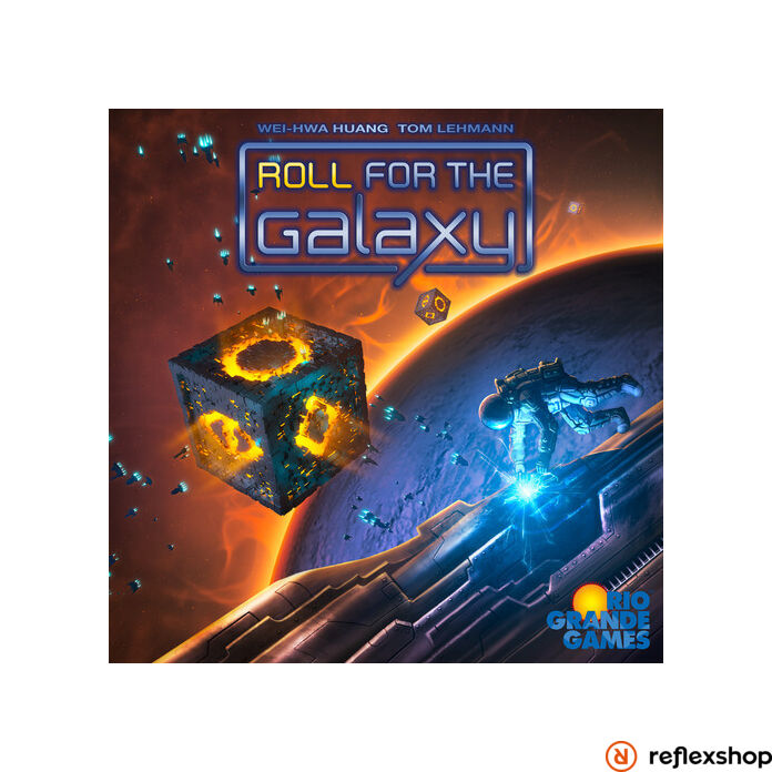 Roll For the Galaxy angol nyelvű társasjáték