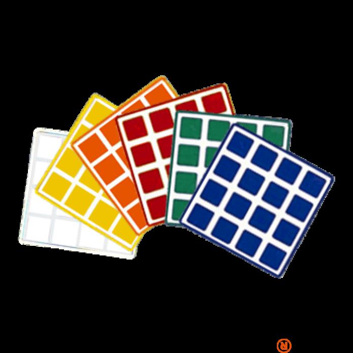 legjobb cipők szuper aranyos stabil minőség Rubik 4x4 matrica szett - Reflexshop