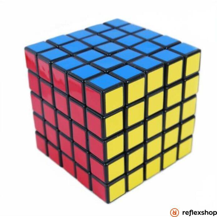 Rubik 5x5x5 kocka kék dobozos