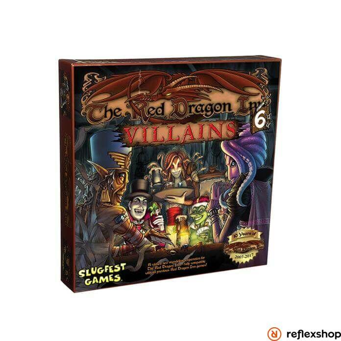 Red Dragon Inn 6 Villains angol nyelvű társasjáték