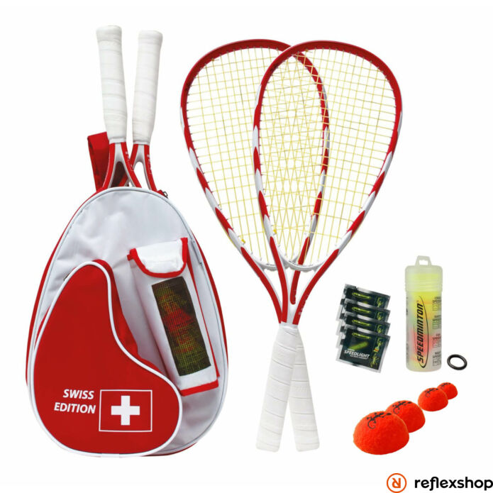 Speedminton Swiss edition tollas szett