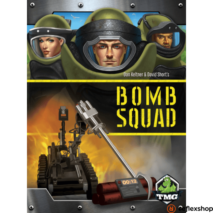 Bomb Squad társasjáték, angol nyelvű