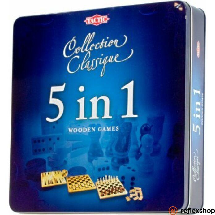 5 in 1 játékszett fém dobozban