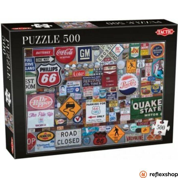 Logók 500 db-os puzzle