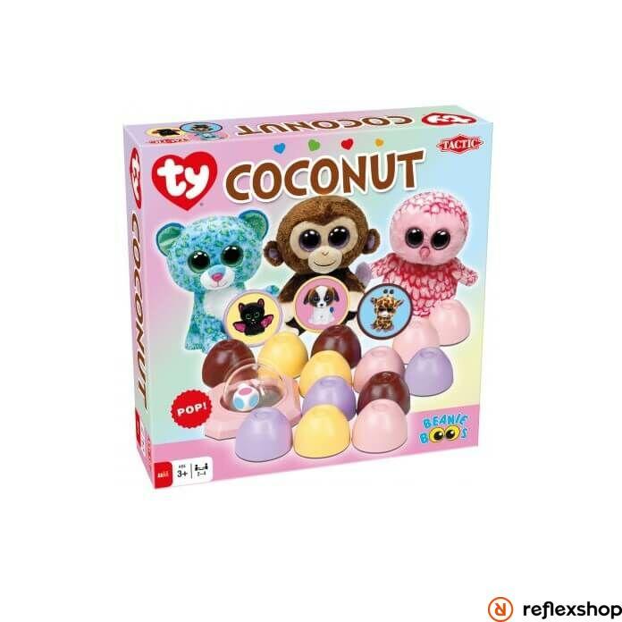 Tactic Ty Beanie Boos Coconut társasjáték