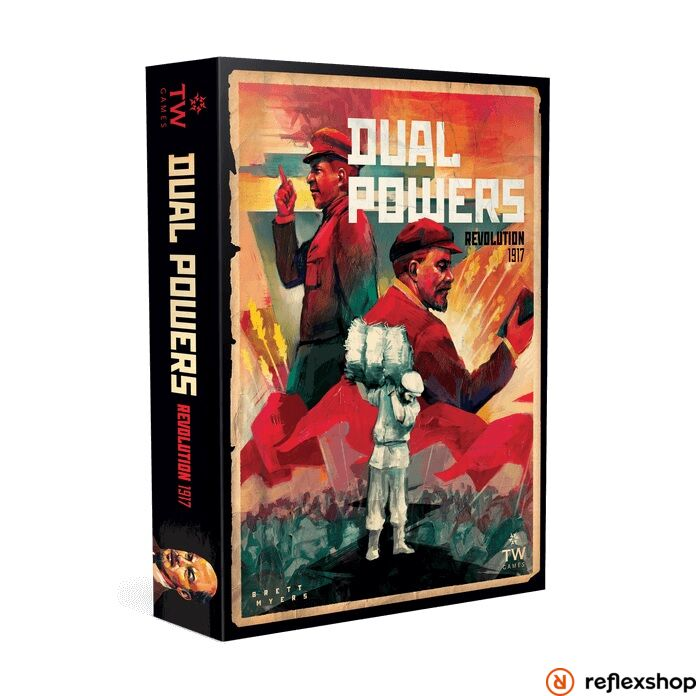 Dual Powers: Revolution 1917 angol nyelvű társasjáték