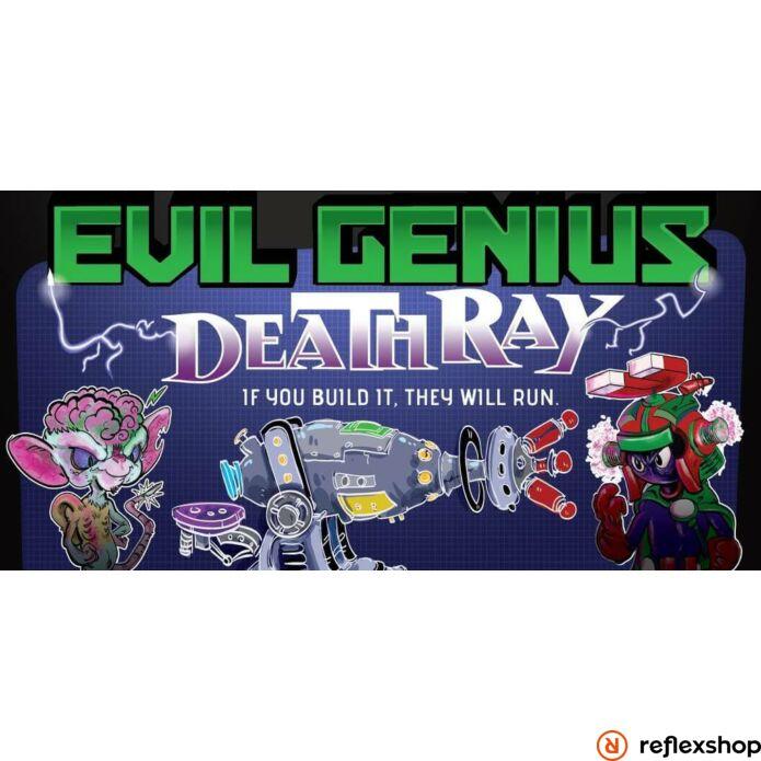 Evil Genius: Deathray társasjáték, angol nyelvű