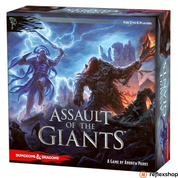 Dungeons and Dragons Assault of the Giants társasjáték