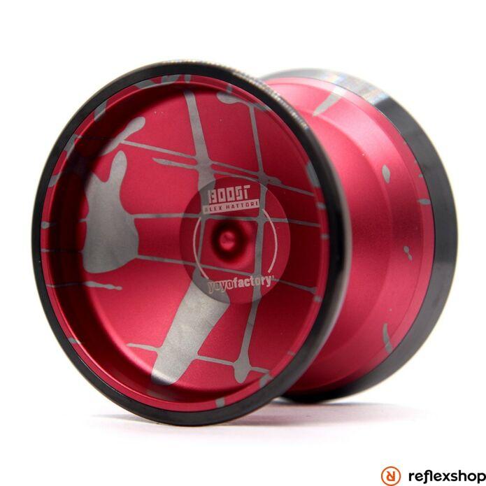 YoYoFactory Boost Splash yo-yo - piros/szürke