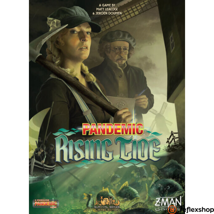 Pandemic: Rising Tide angol nyelvű társasjáték