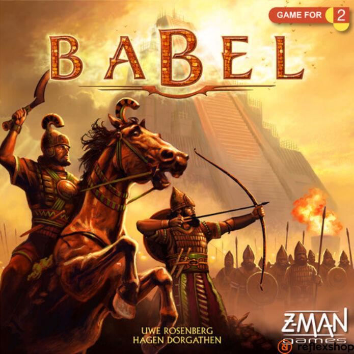 Babel társasjáték, angol nyelvű