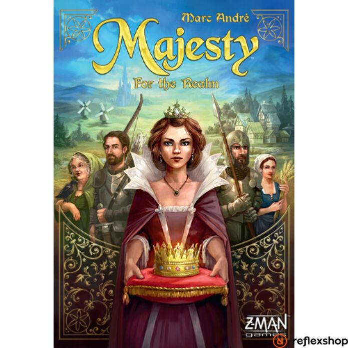 Majesty: For the realm angol nyelvű társasjáték