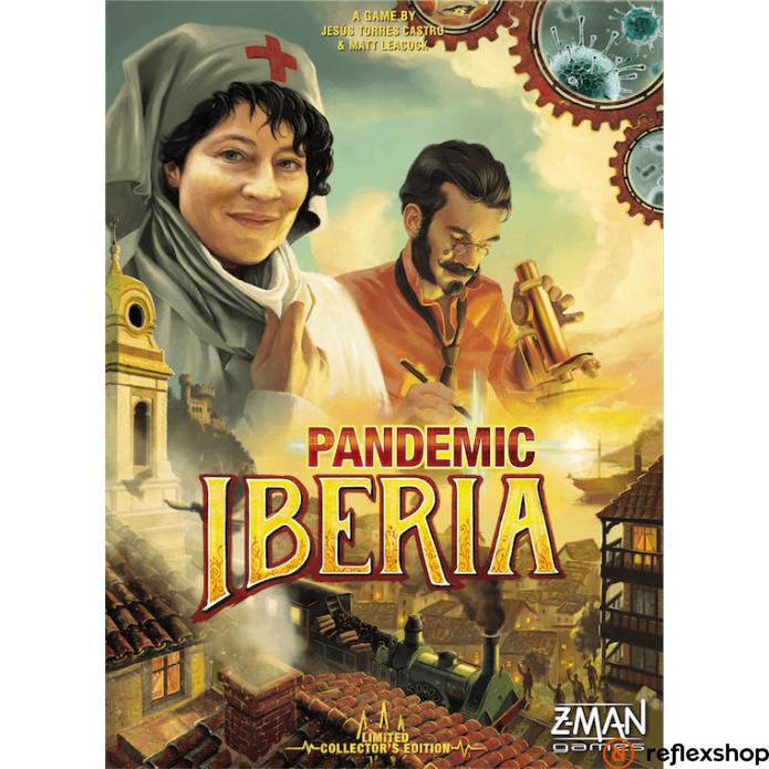 Z-Man Pandemic Iberia angol nyelvű társasjáték