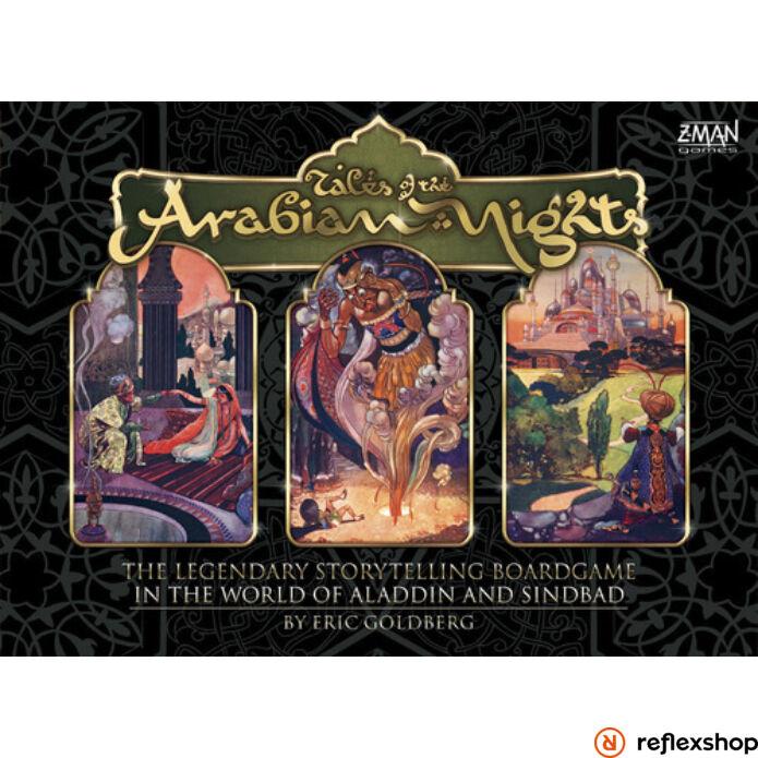 Tales of The Arabian Nights angol nyelvű társasjáték