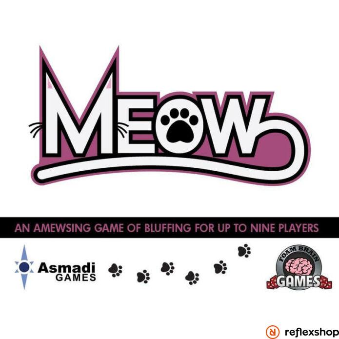 Meow társasjáték, angol nyelvű