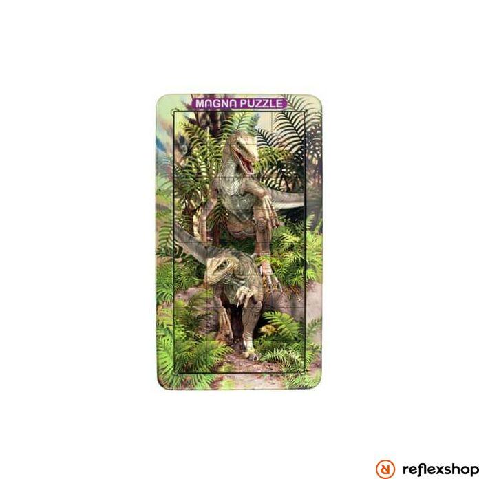 Cheatwell Games 3D Magna Portraits puzzle - raptor
