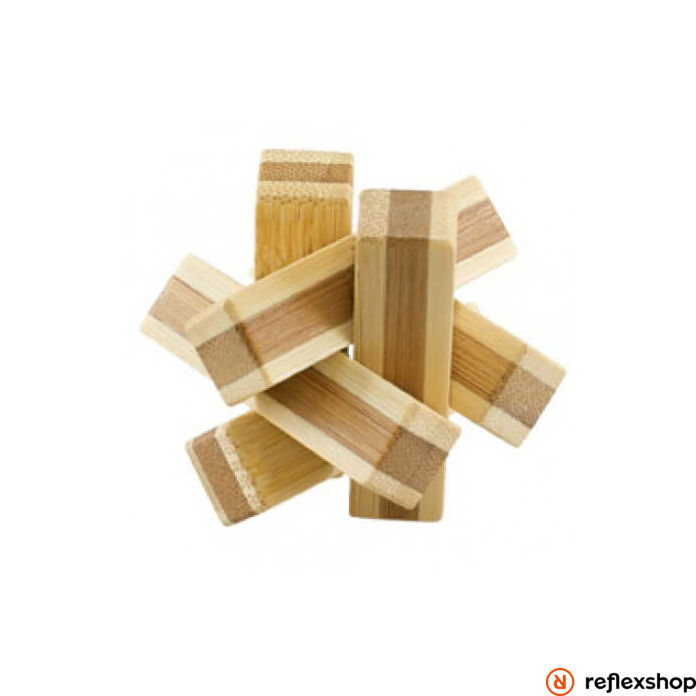 Cheatwell Games IQ Buster Bamboo Puzzle ördöglakat