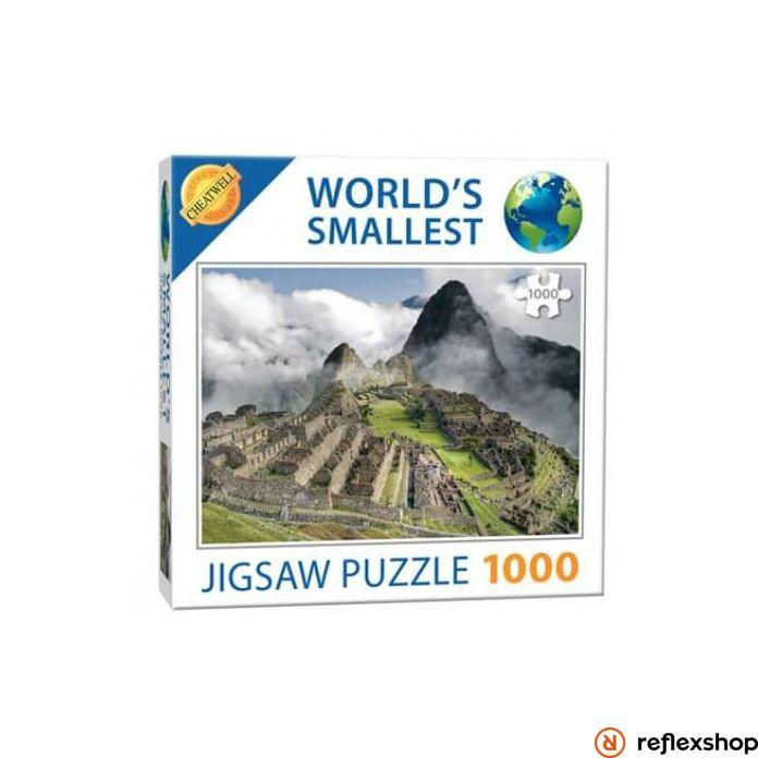 Cheatwell Games A világ legkisebb kirakósa - Machu Picchu