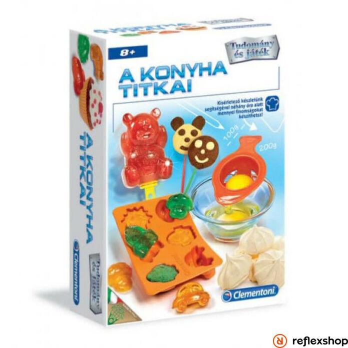A konyha titkai fejlesztő kreatív játék