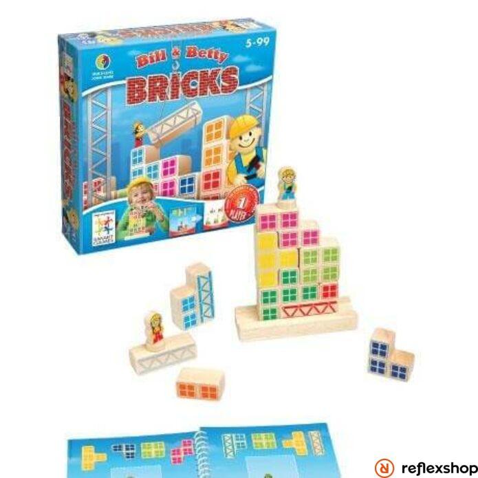 Smart Games Billy és Betty építkezés logikai játék