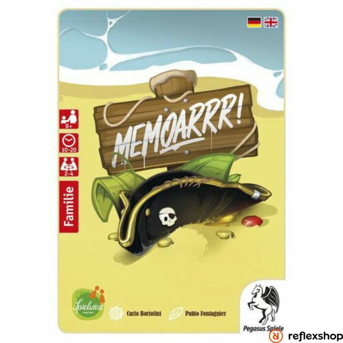 MemoArrr! társasjáték - Reflexshop