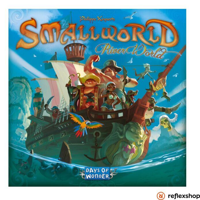 Small World társasjáték River World kiegészítő, angol nyelvű