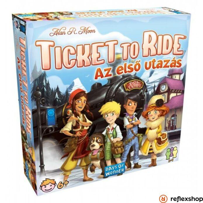 Days of Wonder Ticket to ride Az első utazás társasjáték
