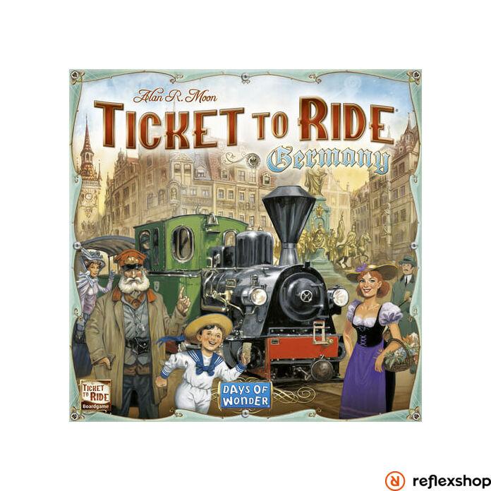 Ticket to Ride Germany angol nyelvű társasjáték
