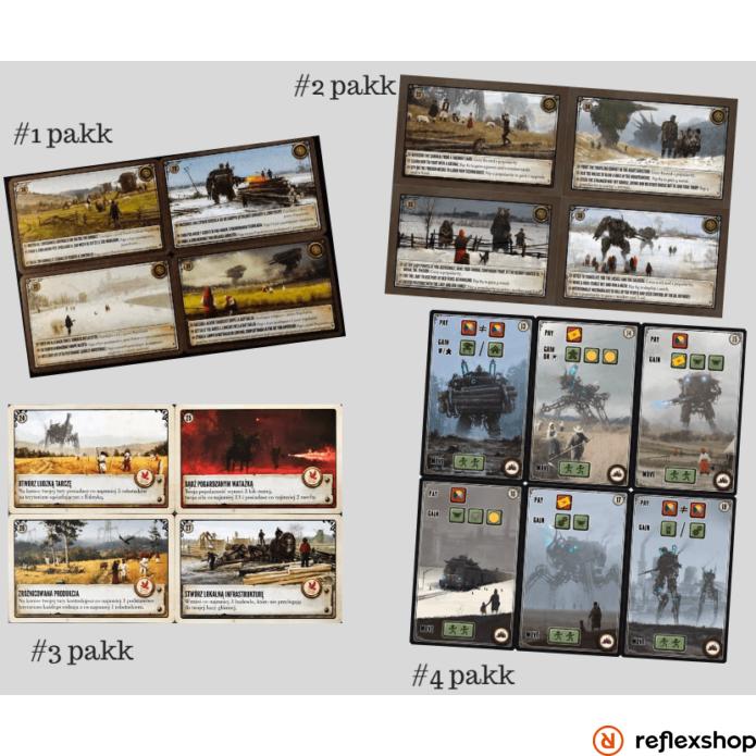 Scythe - Promó kártyacsomag